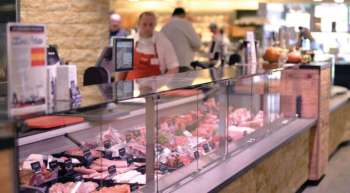 Metzgerei im REWE Markt Rudel