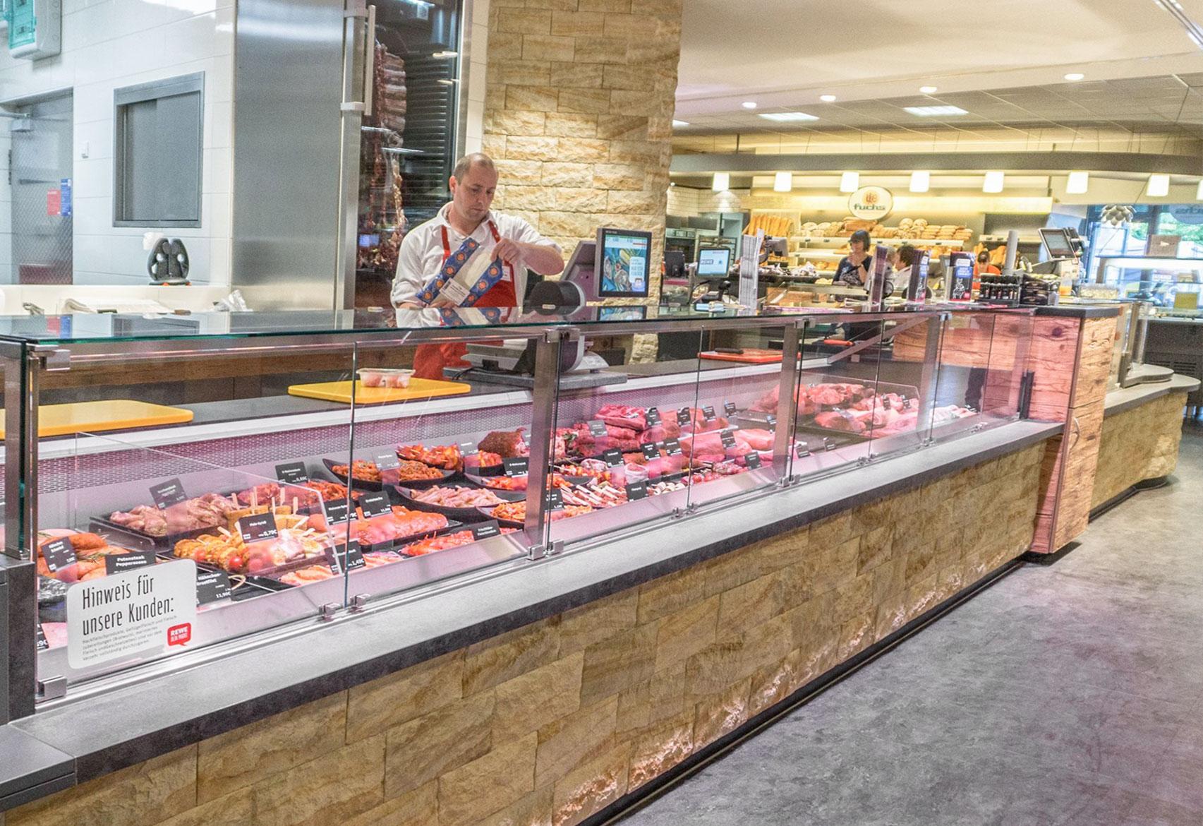REWE Markt Rudel - Frische Abteilung