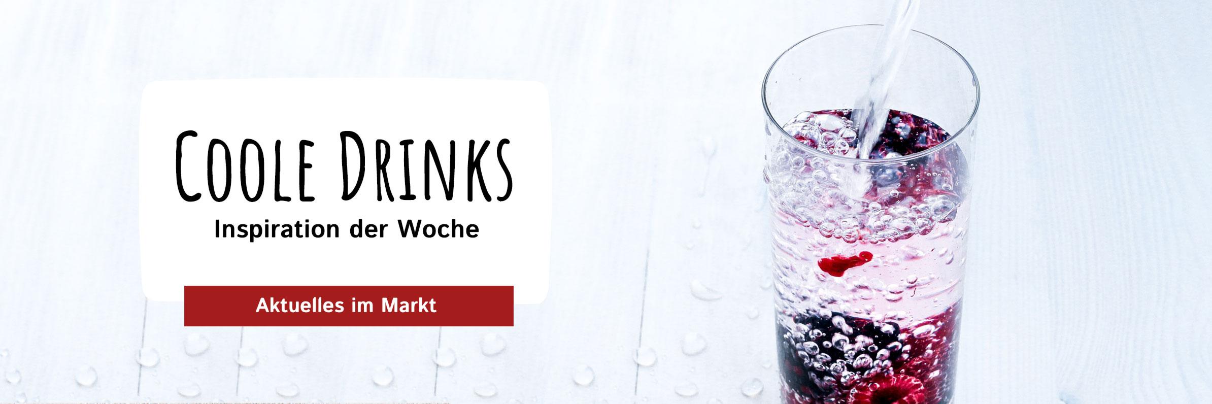 Coole Drinks für heiße Tage