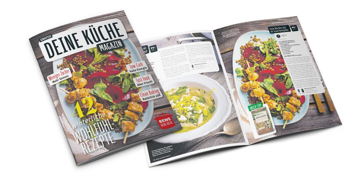 Thema der Woche – Deine Küche Das REWE Magazin Ausgabe 01 ...