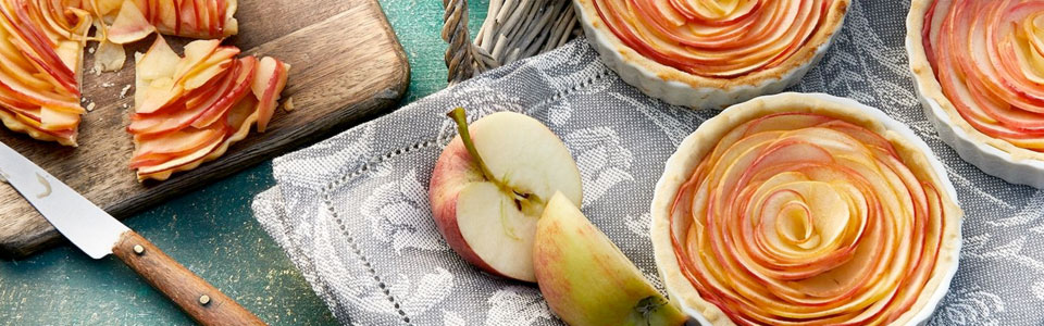 Mini Apfel Tartelettes