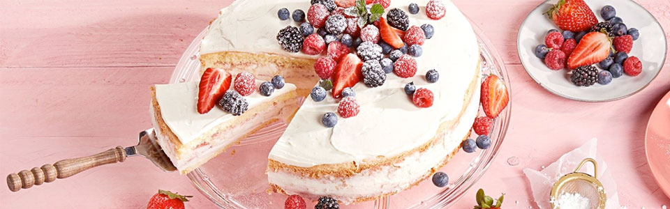Himbeer-Prosecco-Torte