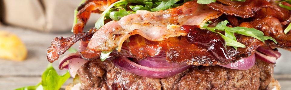 Ziegenkäse-Feigen-Burger