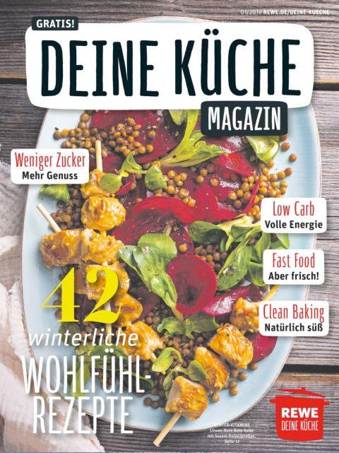 REWE Deine Küche 01/2019