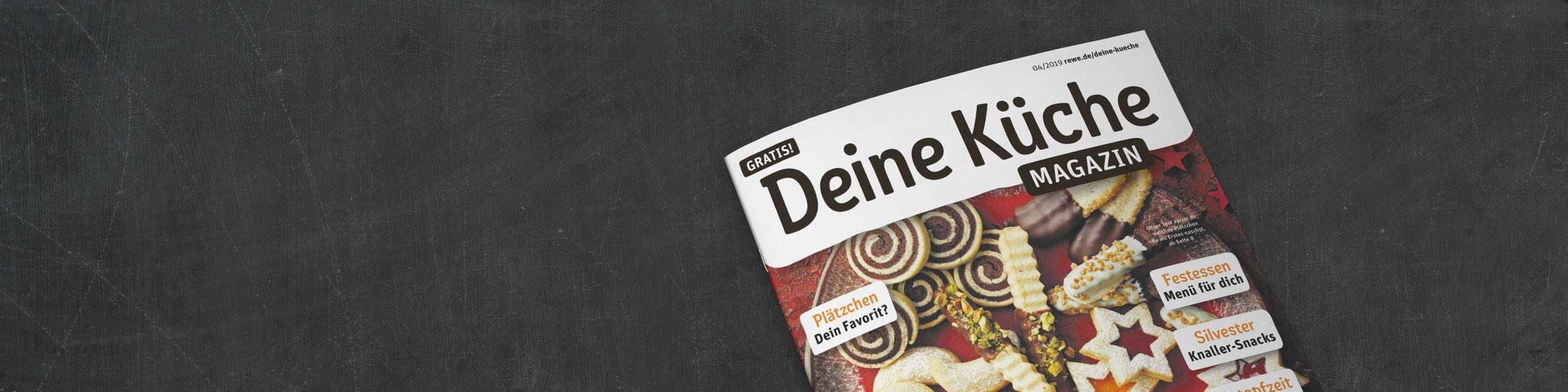 REWE DEINE KÜCHE Magazin