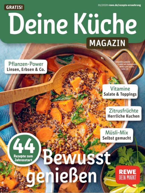REWE - Deine Küche Magazin 01-2020