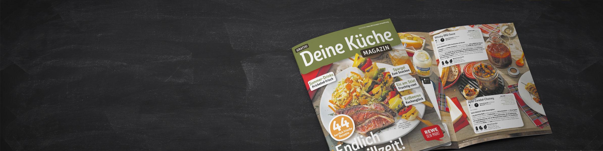 REWE - Deine Küche Magazin 02-2020
