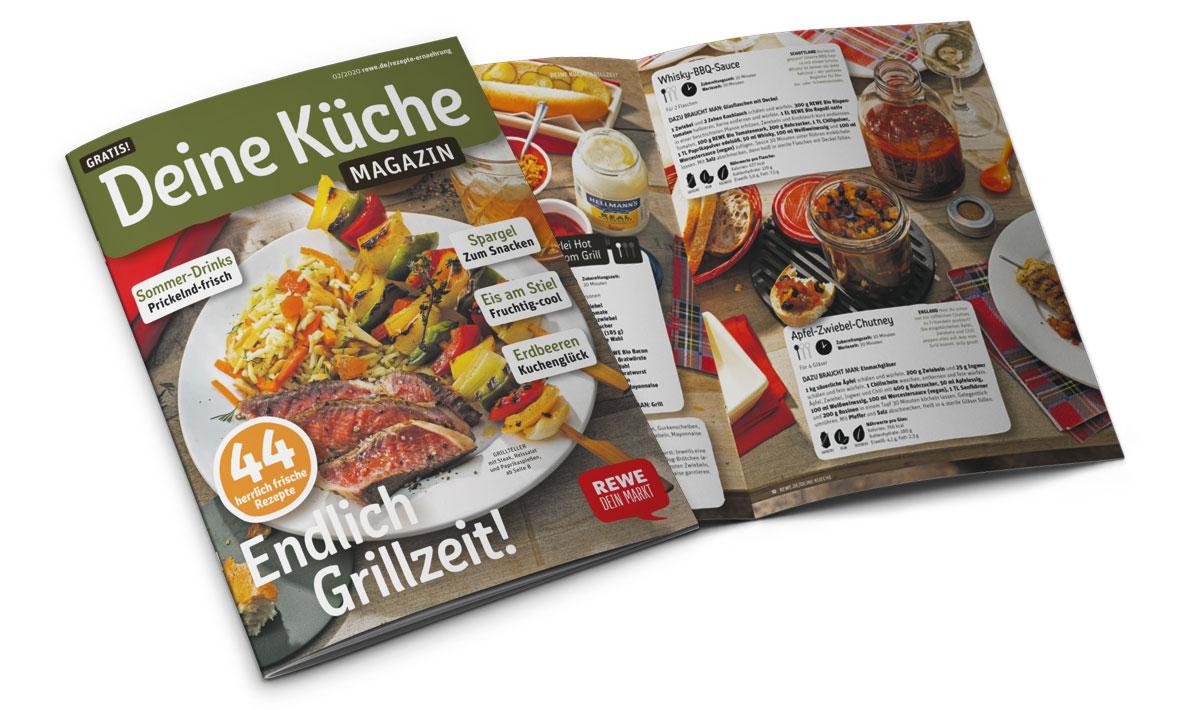 REWE Deine Küche Magazin Ausagbe 02 2020