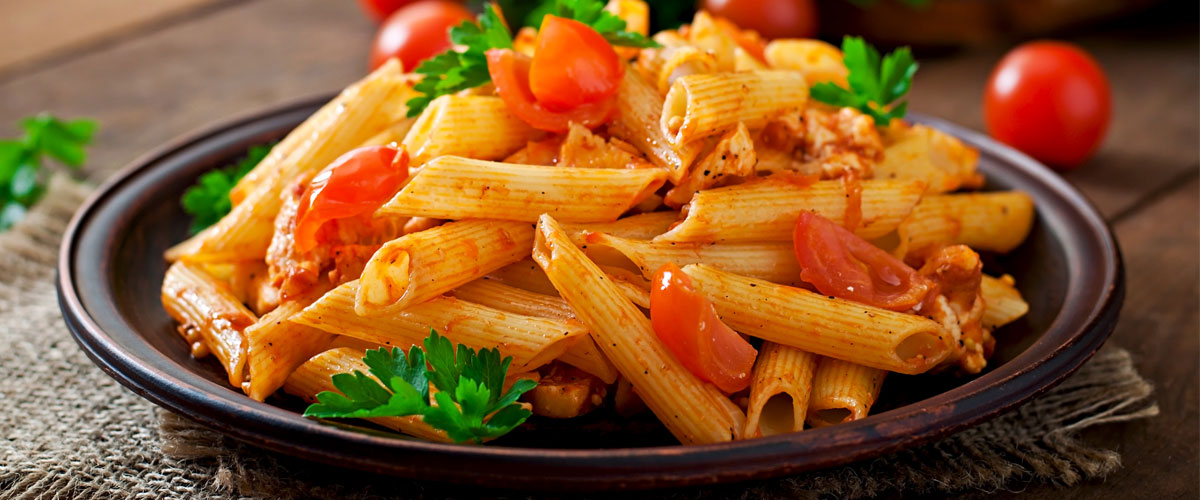 Penne mit Tomate